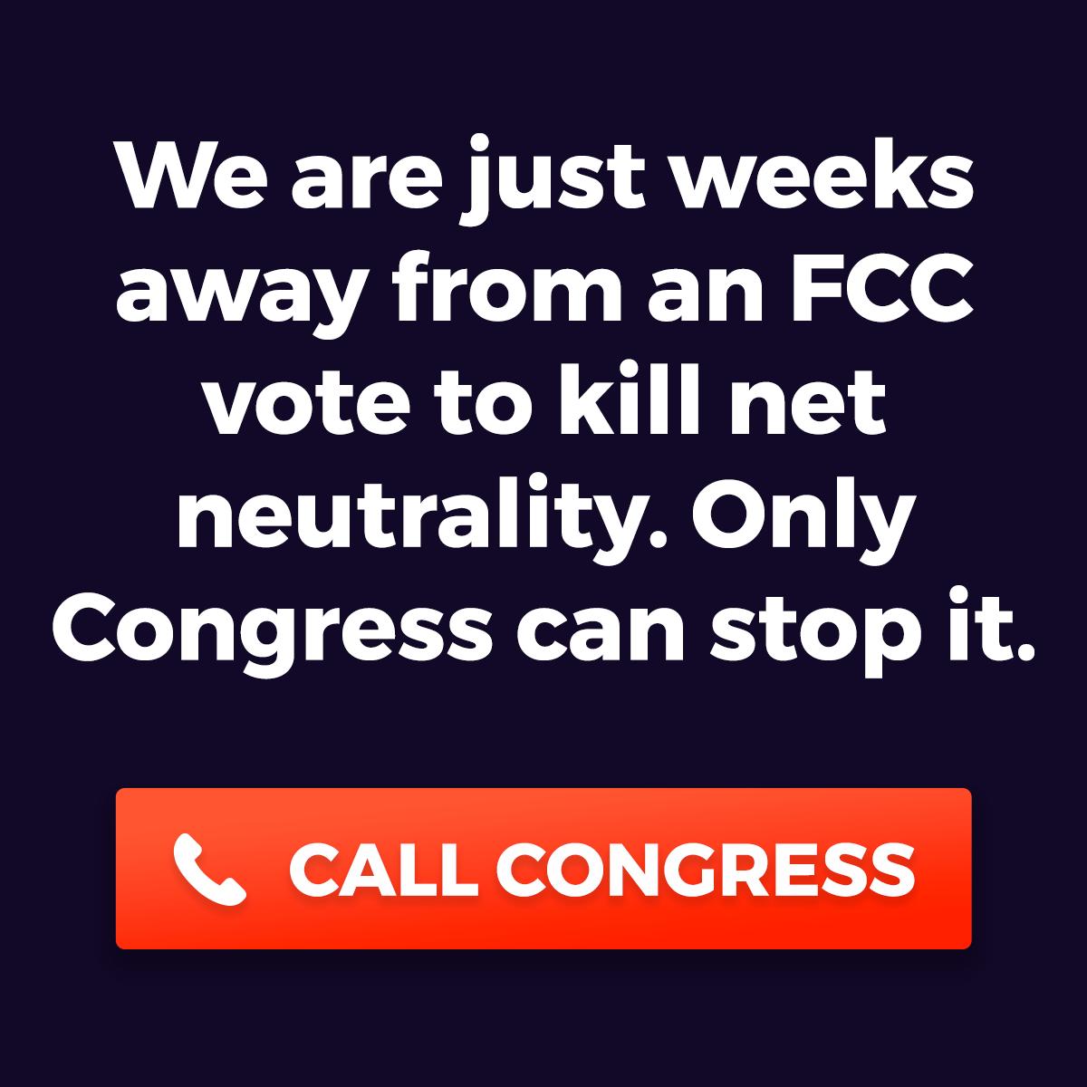 I support Net Neutrality